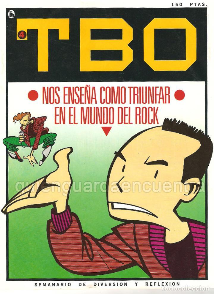 Tebeos: Nuevo TBO Bruguera 1-2-3-4-5-6-7 época 5-COLECCIÓN COMPLETA semanario diversión reflexión-1986 nuevo - Foto 4 - 128288779