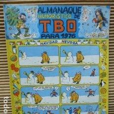 Livros de Banda Desenhada: TBO -ALMANAQUE HUMORISTICO PARA 1976. Lote 129280371