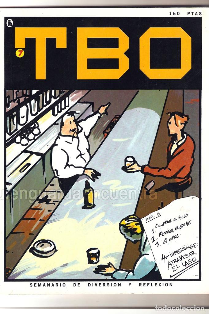 Tebeos: Nuevo TBO Bruguera 1-2-3-4-5-6-7 época 5-COLECCIÓN COMPLETA semanario diversión reflexión-1986 nuevo - Foto 5 - 128288779
