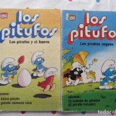 Tebeos: LOS PITUFOS - 2 NUMEROS. Lote 129472611