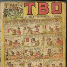 Tebeos: VOLUMEN RELIGADO CON HILO SIN TAPAS CON LOS NUMEROS 1 A 33 DE TBO (1952) - BUIGAS - VER DESCRIPCION. Lote 131058260