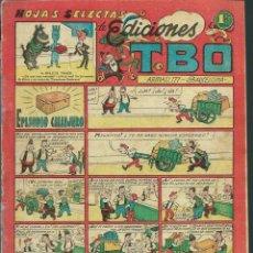 Tebeos: HOJAS SELECTAS DE EDICIONES TBO - EPISODIO CALLEJERO - BUIGAS AÑOS 50 - ORIGINAL - VER DESCRIPCION. Lote 131093832