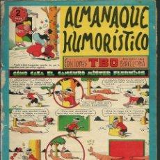 Tebeos: ALMANAQUE HUMORISTICO TBO 1956 - BUIGAS 1955 - ORIGINAL - VER DESCRIPCION. Lote 131093976