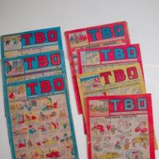 Tebeos: LOTE DE 7 TBO Nº 17, 43, 77, 83, 87, 105 Y 132 - SEGUNDA EPOCA - EDITORIAL BUIGAS. Lote 131341738