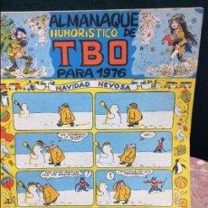 Tebeos: TBO ALMANAQUE HUMORÍSTICO DE 1976. Lote 56563725