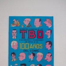 Tebeos: NUMERO-HOMENAJE DE TBO A SUS DIBUJANTES Y COLABORADORES CON MOTIVO DE 100 AÑOS DEL COMIC - BUIGAS. Lote 131571386