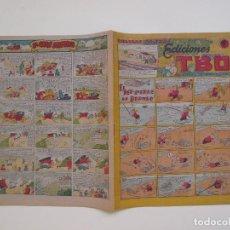Tebeos: PAGINAS AMENAS EDICIONES TBO- EL PEZ-LIEBRE DE BORNEO - EDITORIAL BUIGAS 1947. Lote 131572690