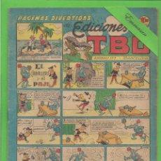 Tebeos: TBO - Nº 106 - EL CABALLERO Y EL PAJE - BUIGAS - (1951).. Lote 131864186