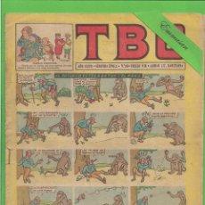 Tebeos: TBO - Nº 16 - EL BOTÁNICO BORTON Y EL MONO - BUIGAS - (1952).. Lote 132029378