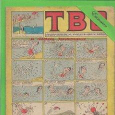 Tebeos: TBO - Nº 40 - EL BAÑISTA IMPERTINENTE - BUIDAS - (1953).. Lote 132030038