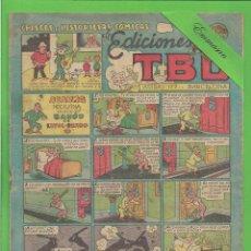 Tebeos: TBO - Nº 74 - ALARMA NOCTURNA EN CASA DEL BARÓN DE LIVOL-PANDO - BUIGAS - (1949).. Lote 132059830