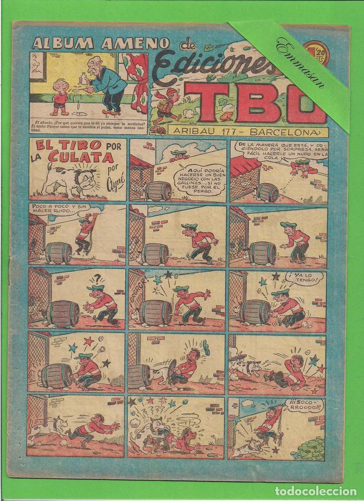 TBO - Nº 120 - EL TIRO POR LA CULATA - BUIGAS - (1951). (Tebeos y Comics - Buigas - TBO)