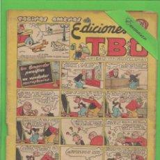 Tebeos: TBO - Nº 122 - UN COMPRADOR PACÍFICO Y UN VENDEDOR NEURASTÉNICO - BUIGAS - (1951).. Lote 132064010