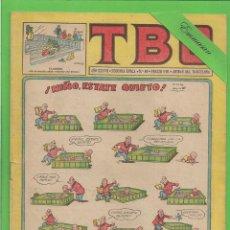 Tebeos: TBO - Nº 49 - ¡NIÑO, ESTATE QUIETO! - BUIGAS - (1953).. Lote 132106278