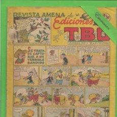 Tebeos: TBO - Nº 83 - SE TRATA DE CAPTURAR A UN TERRIBLE BANDIDO - BUIGAS - (1950).. Lote 132111434