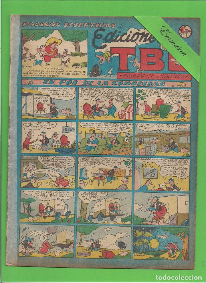 TBO - Nº 115 - EN POS DE LA COMODIDAD - BUIGAS - (1951). (Tebeos y Comics - Buigas - TBO)