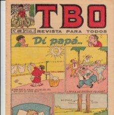 Tebeos: TBO - NUM 400 - 3 PTS. -1958---PUEDEN SOLICITAR LOS NÚMEROS QUE LES FALTEN-----. Lote 132917614