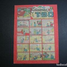 Tebeos: TBO (1943, TBO) 39 · III-1947 · CONSECUENCIAS DE UNA VENTOLERA. Lote 133026214