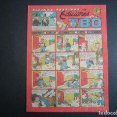Tebeos: TBO (1943, TBO) 66 · 15-V-1949 · UNA VISITA IMPREVISTA. Lote 133026990