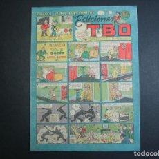 Tebeos: TBO (1943, TBO) 74 · 1-XI-1949 · ALARMA NOCTURNA EN CASA DEL BARON DE LIVOI-PANDO. Lote 133027334