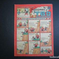 Tebeos: TBO (1943, TBO) 105 · 15-III-1951 · UN BUEN OBSEQUIO. Lote 133027942