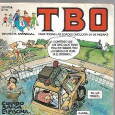 Tebeos: REVISTA MENSUAL. TBO. Nº 31. PARA TODAS LAS EDADES (INCLUIDA LA DE PIEDRA). Lote 133896910