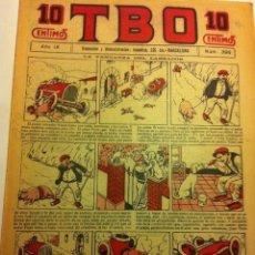 Tebeos: TBO .- Nº. 398- AÑO VIII- AÑO 1924 - COMPLETAMENTE NUEVO - 10 CTS. Lote 135147066