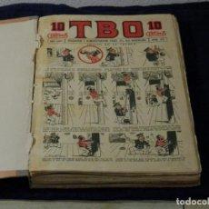 Tebeos: COLECCION TBO , 65 NUMEROS CONSECUTIVOS, 872-942, 10 CENTIMOS, PRIMERA EPOCA, ORIGINALES. Lote 135786098