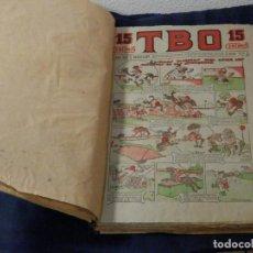 Tebeos: COLECCION TBO ,15 CENTIMOS, 37 NUMEROS, MUCHOS CONSECUTIVOS, Nº 1022-1074, ORIGINALES. Lote 135786782