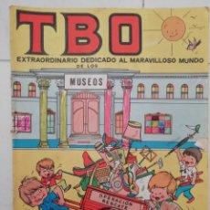 Tebeos: REVISTA INFANTIL Y JUVENIL TBO EXTRAORDINARIO DEDICADO AL MARAVILLOSO MUNDO DE LOS MUSEOS. Lote 137217368