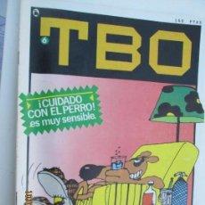 Tebeos: TBO - Nº 6 - ¡ CUIDADO CON EL PERRO ES MUY SENSIBLE ! - BRUGUERA - 1986. Lote 137655082