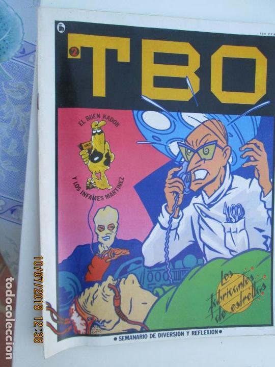 TBO Nº 2. LOS FABRICANTES DE ESTRELLAS. BRUGUERA 1986. SEMANARIO DE DIVERSION Y REFLEXION (Tebeos y Comics - Buigas - TBO)