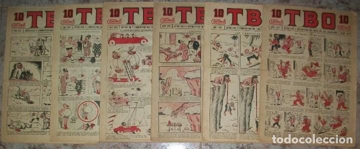TBO 10 CTS (BUIGAS) (LOTE DE 6 NUMEROS) (Tebeos y Comics - Buigas - TBO)