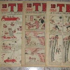 Tebeos: TBO 10 CTS (BUIGAS) (LOTE DE 6 NUMEROS). Lote 137712898