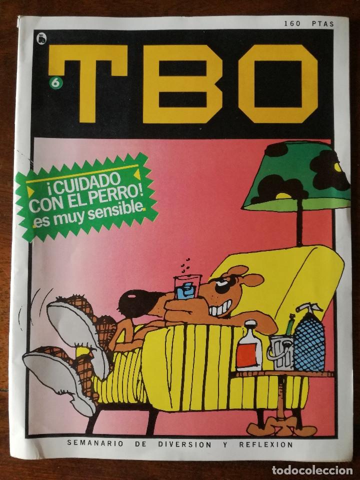 Tebeos: Nuevo TBO Bruguera 1-2-3-4-5-6-7 época 5-COLECCIÓN COMPLETA semanario diversión reflexión-1986 nuevo - Foto 6 - 128288779