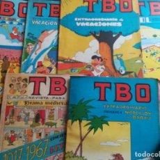 Tebeos: TBO LOTE DE 6 NUMEROS EXTRAORDINARIOS DE 1958-1974- EN MUY BUEN ESTADO. Lote 139260098
