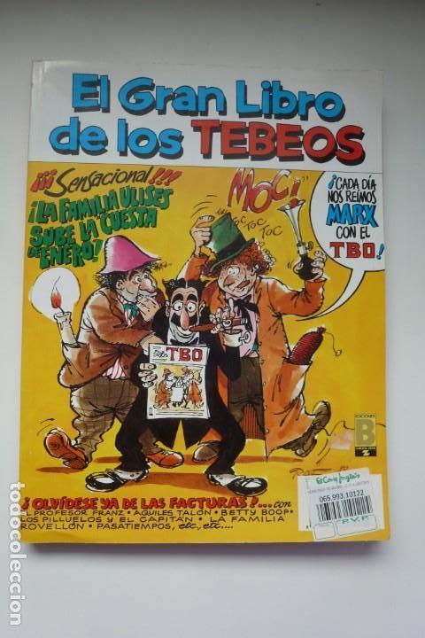 EL GRAN LIBRO DE LOS TEBEOS. TOMO 7, RETAPADO CON LOS TBO Nº 22, 23 Y 24. EDICIONES B (Tebeos y Comics - Buigas - TBO)