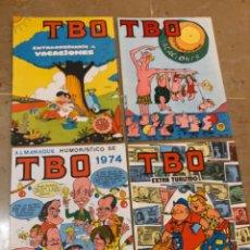 Tebeos: TBO VACACIONES, EXTRA TURISMO, ALMANAQUE HUMOR 1974. Lote 139917806