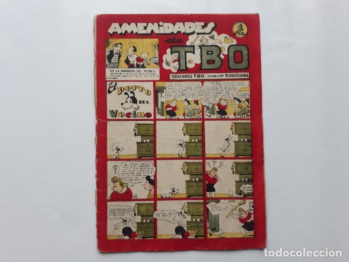 AMENIDADES DE TBO , Nº 21 , EL PERRO DEL VECINO (Tebeos y Comics - Buigas - TBO)