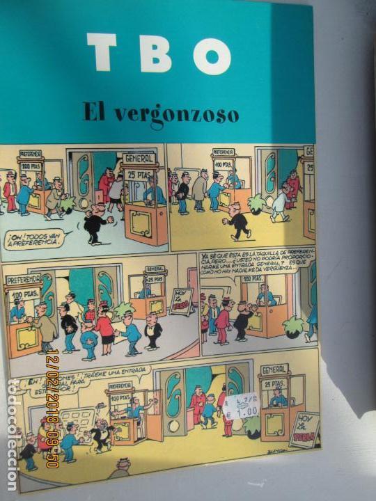 TBO. EL VERGONZOSO. EDICIONES B. 2003 (Tebeos y Comics - Buigas - TBO)