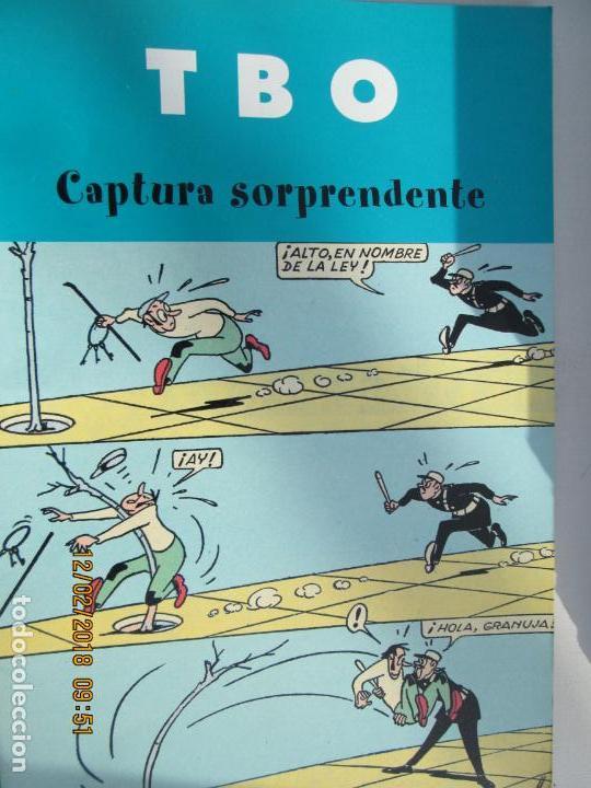 TBO. CAPTURA SORPRENDENTE. EDICIONES B. 2003 (Tebeos y Comics - Buigas - TBO)