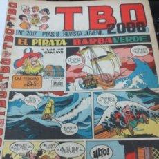 Tebeos: TBO 2000 Nº 2017 REVISTA JUVENIL. Lote 143180630