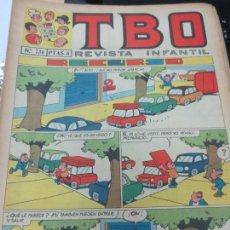 Tebeos: TBO REVISTA INFANTIL Nº 734. Lote 143261738