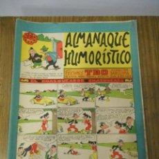 Tebeos: ALMANAQUE HUMORÍSTICO 1962. Lote 143595018