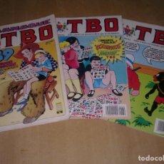 Tebeos: LOTE ALMANAQUE 1989 Y 2 TEBEOS. Lote 145193338