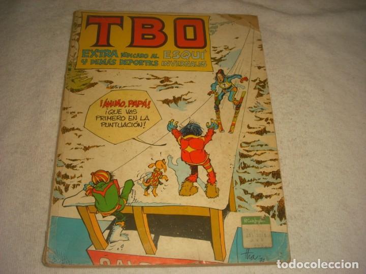 TBO Nº 8 EXTRA DEDICADO AL ESQUI Y DEMAS DEPORTES INVERNALES. RETAPADO CON 6 NUMEROS (Tebeos y Comics - Buigas - TBO)
