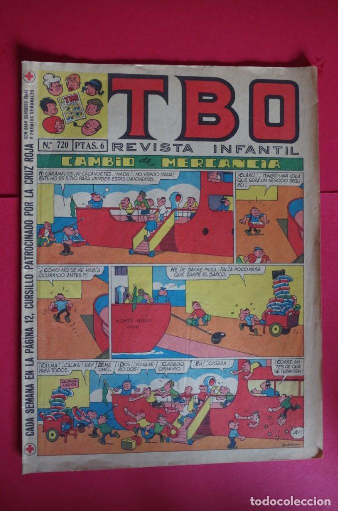 TBO Nº 720 EDITA BUIGAS 1971 (Tebeos y Comics - Buigas - TBO)