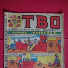 Tebeos: TBO Nº 720 EDITA BUIGAS 1971. Lote 147060546