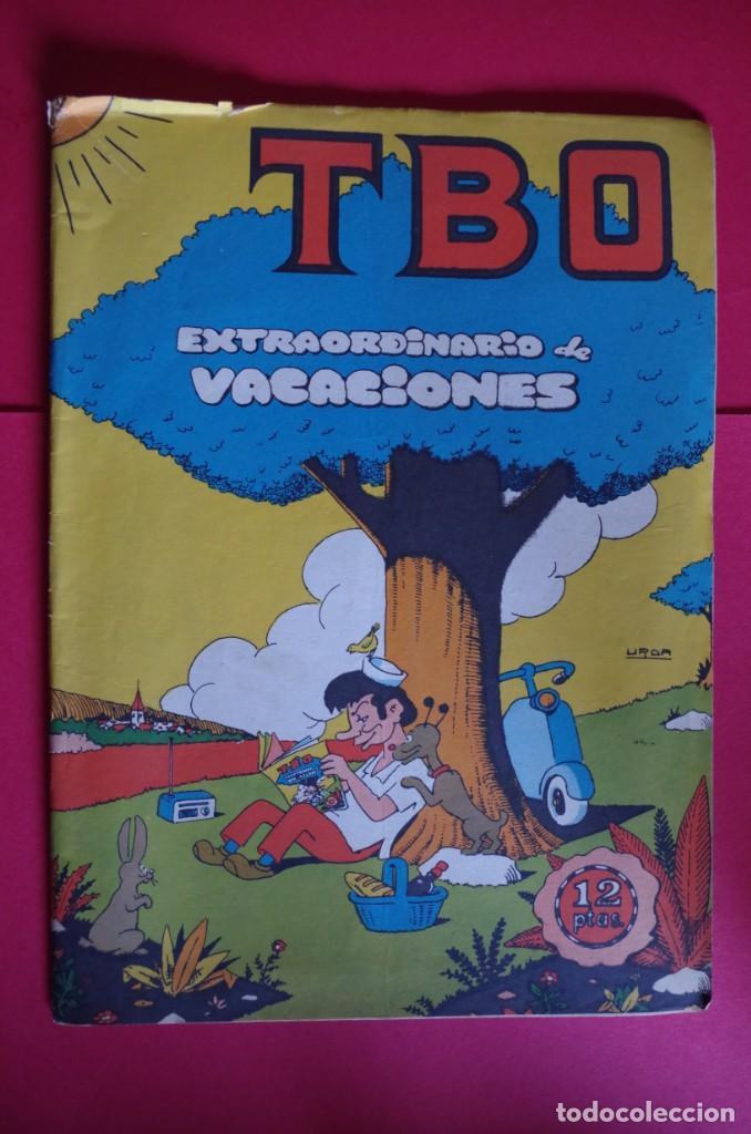 TBO EXTRAORDINARIO DE VACACIONES ORIGINAL 12 PTAS EDITORIAL BUIGAS 1969 (Tebeos y Comics - Buigas - TBO)