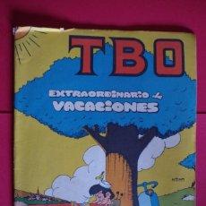 Tebeos: TBO EXTRAORDINARIO DE VACACIONES ORIGINAL 12 PTAS EDITORIAL BUIGAS 1969. Lote 147065234